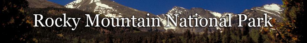 Rocky Mountain National Park NPS Photo